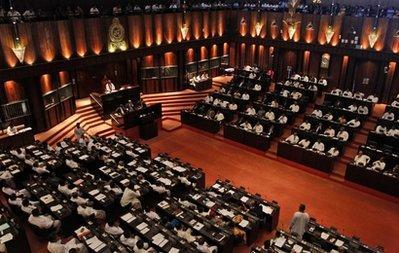 Sri Lanka's parliament