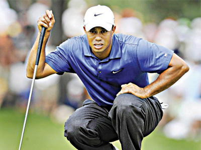 Nike is taking Tiger Woods to China to help stoke interest in golf.