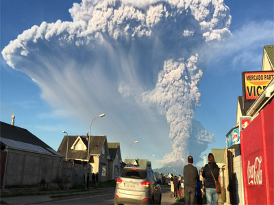 Calbuco last erupted in 1972 and is considered one of the top three most potentially dangerous among Chile's 90 active volcanos PHOTO: Al Jazeera