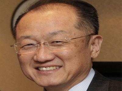The president of the World Bank, Jim Yong Kim