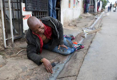 A Mozambican, Emmanuel Sitholeleft to die in Alexandra township  during the xenophobic attack in Johannesburg, South Africa.