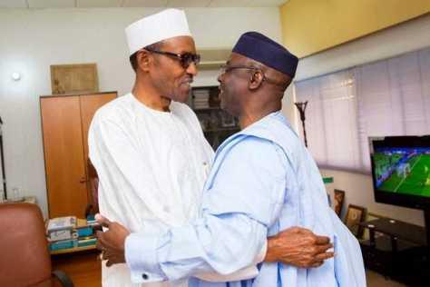 Buhari and Bakare- image source musicnbuzz