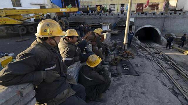 coal mine flood