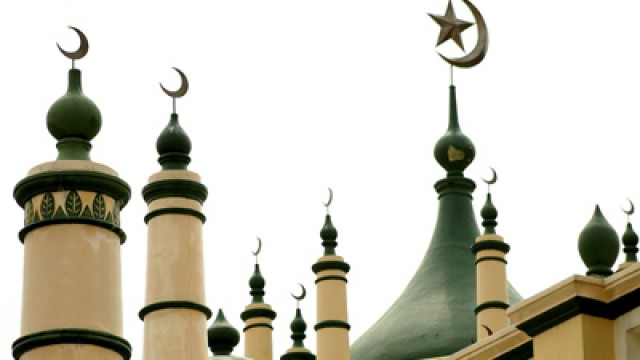 crescents mosque