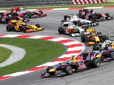 Formula one race cars-businessinsider
