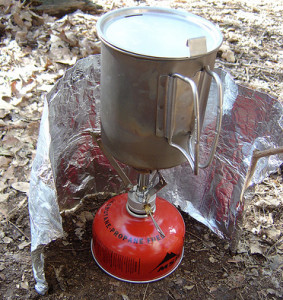 gas stove wintercampers.
