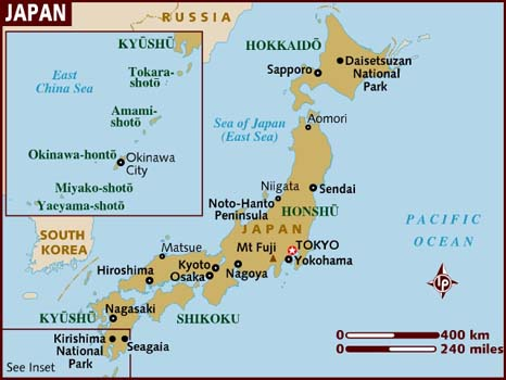 Japan Turns To UN To Pressure North Korea On Abductees News - Japan map questions
