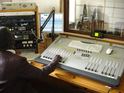 A radio station. image source justshuddup