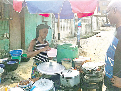 Street  food service in mostly unhygienic conditions still remains a risk to consumers
