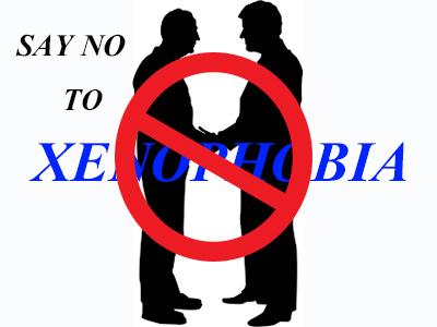 say no xenophobia