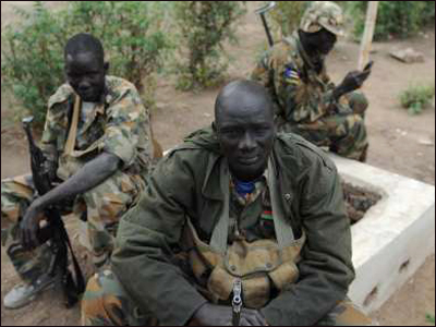 South Sudan forces