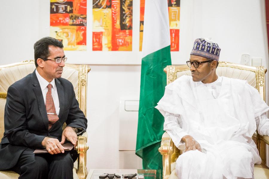IRAQ Ambassador to Nigeria to Nigeria, Alh Khalil Mhesisin Alshammry