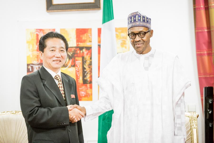 Democratic Republic of Korea Ambassador to Nigeria,Jong Yong Chol