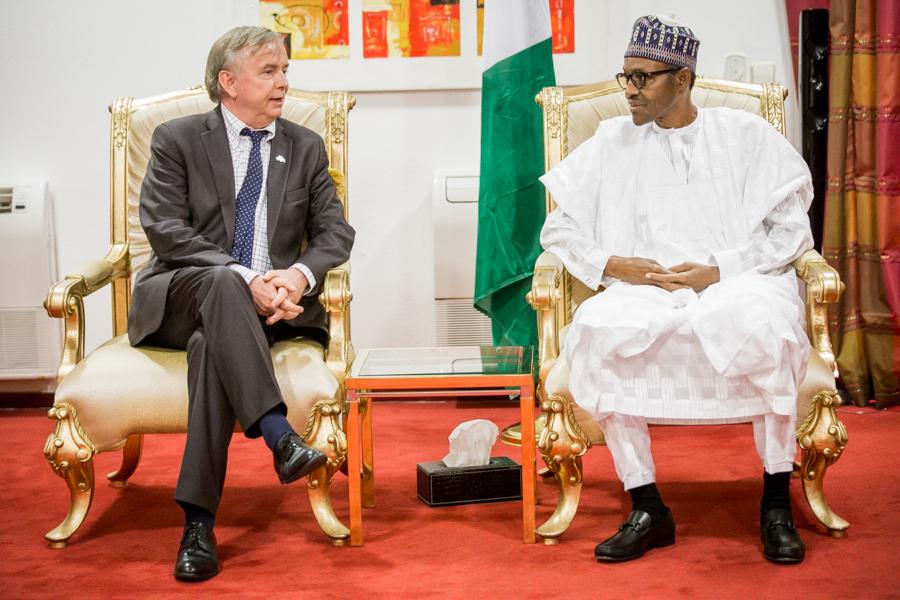 Sweden Ambassador to Nigeria,Svante Kilander