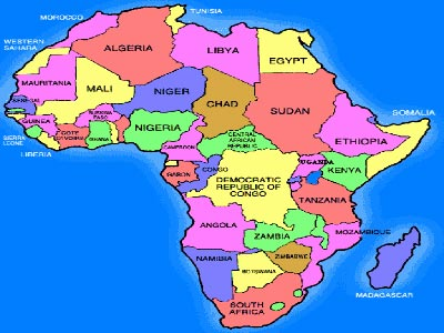 Africa Map 2015 African economy to strengthen in 2015 despite Ebola, oil price