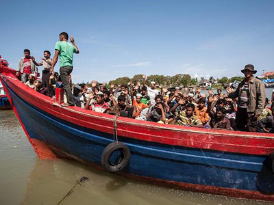 Rohingya rescued off Indonesia
