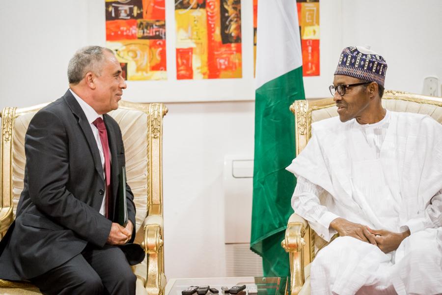 Algeria Ambassador to Nigeria, Mr. Belkacem Smaili