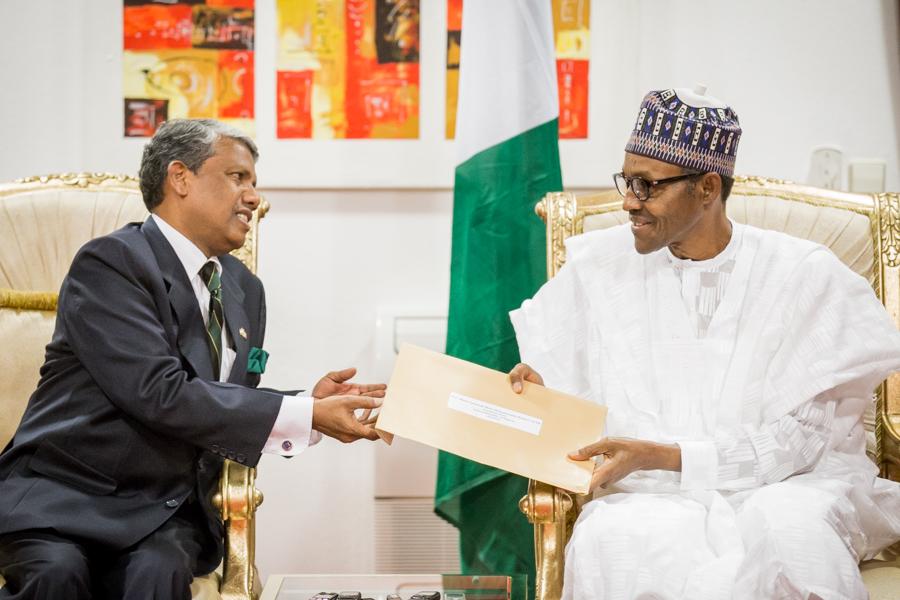 INDIA Ambassador to Nigeria, A.R. Ghanashyam