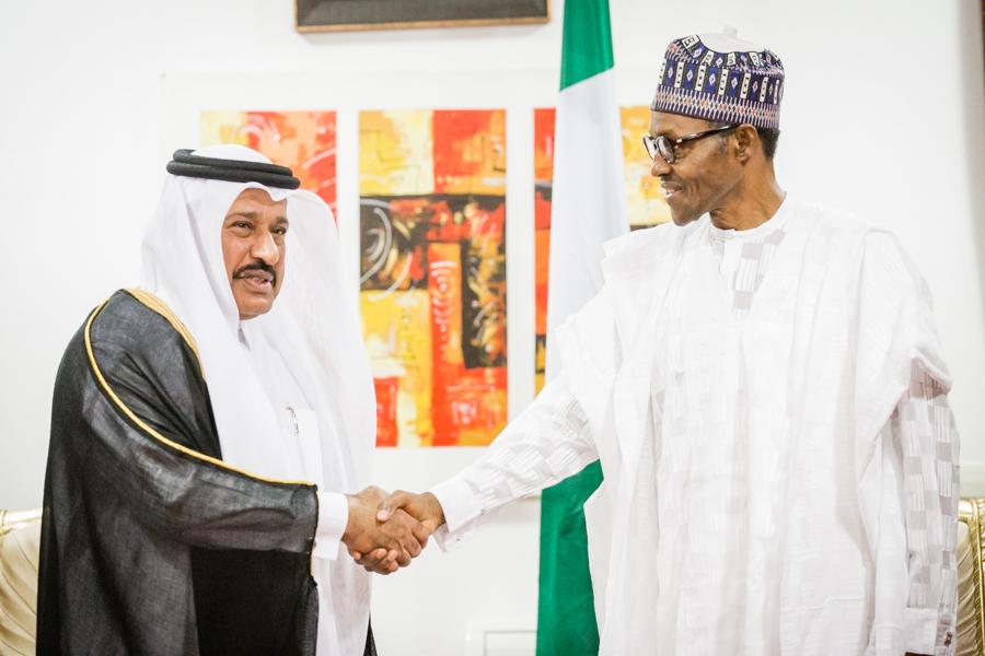 QATAR Ambassador to Nigeria, Abdulaziz bin Mubarak Al-Muhannadi