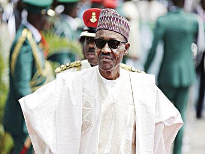 President Buhari ..... yesterday