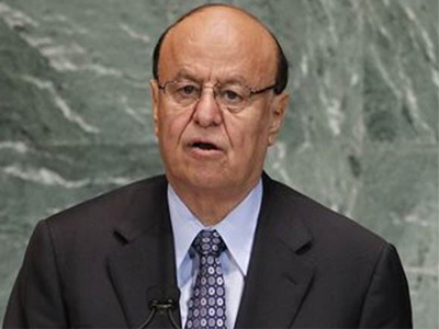 Yemen President, Abedrabbo Mansour Hadi