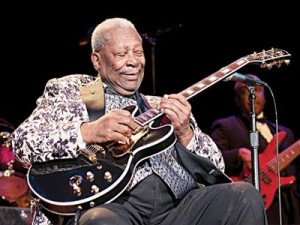BB King… in performance