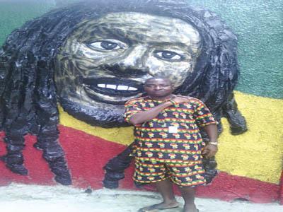 Ras Clark Orbada, organiser of Bob Marley Day in Warri
