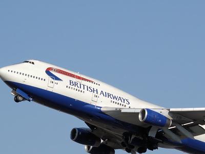 British Airways Boeing 737-400