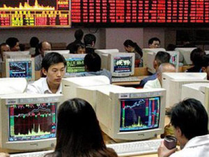 China stock exchanges