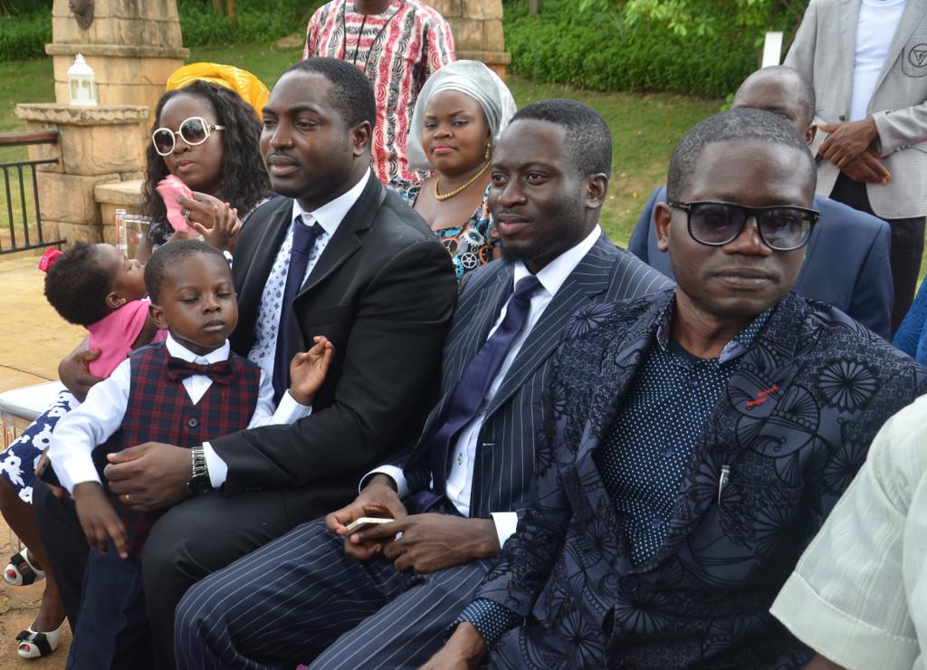 Children and grandchildren of Governor Adams Oshiomole