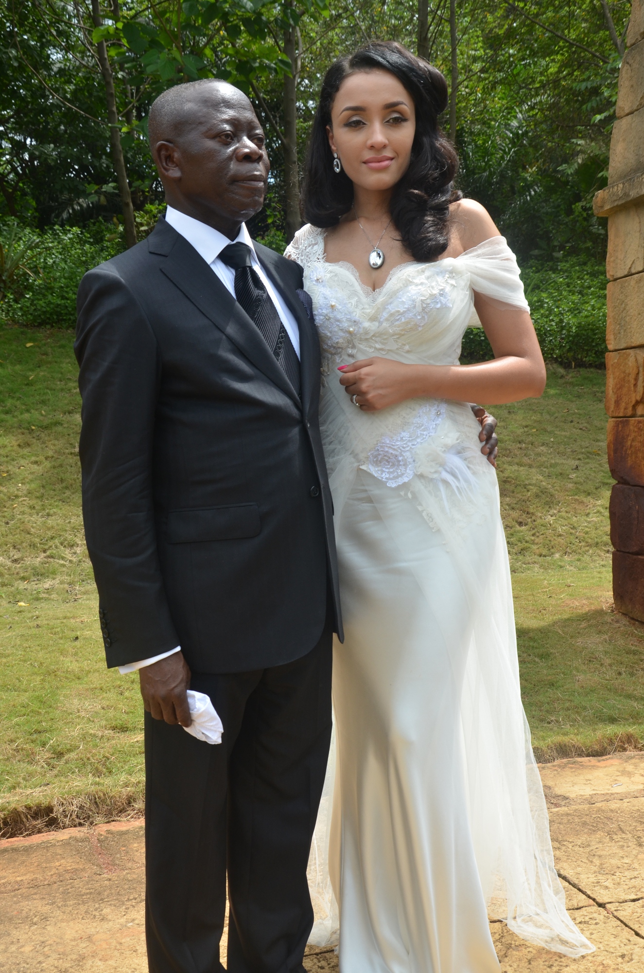 Image result for adams oshiomole and wife