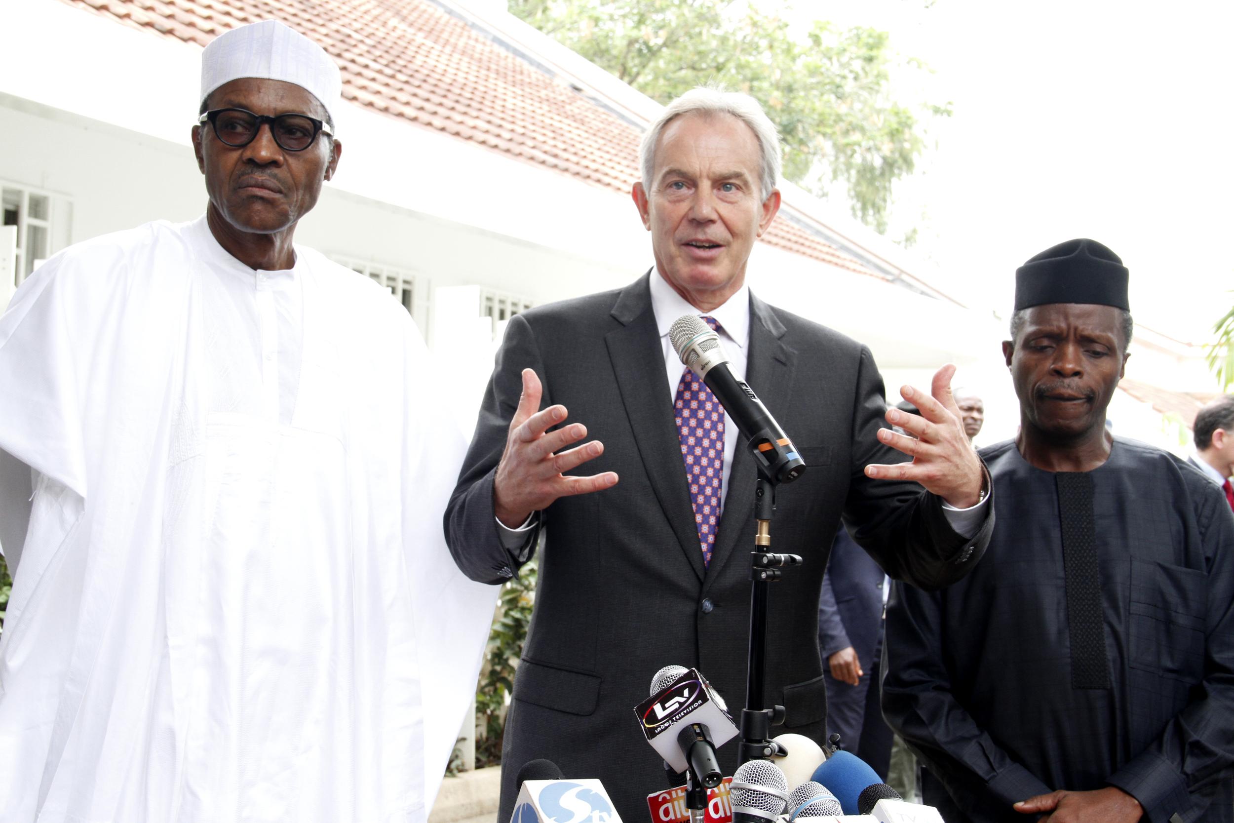Defense House(Buhari & Tony Blair) 1