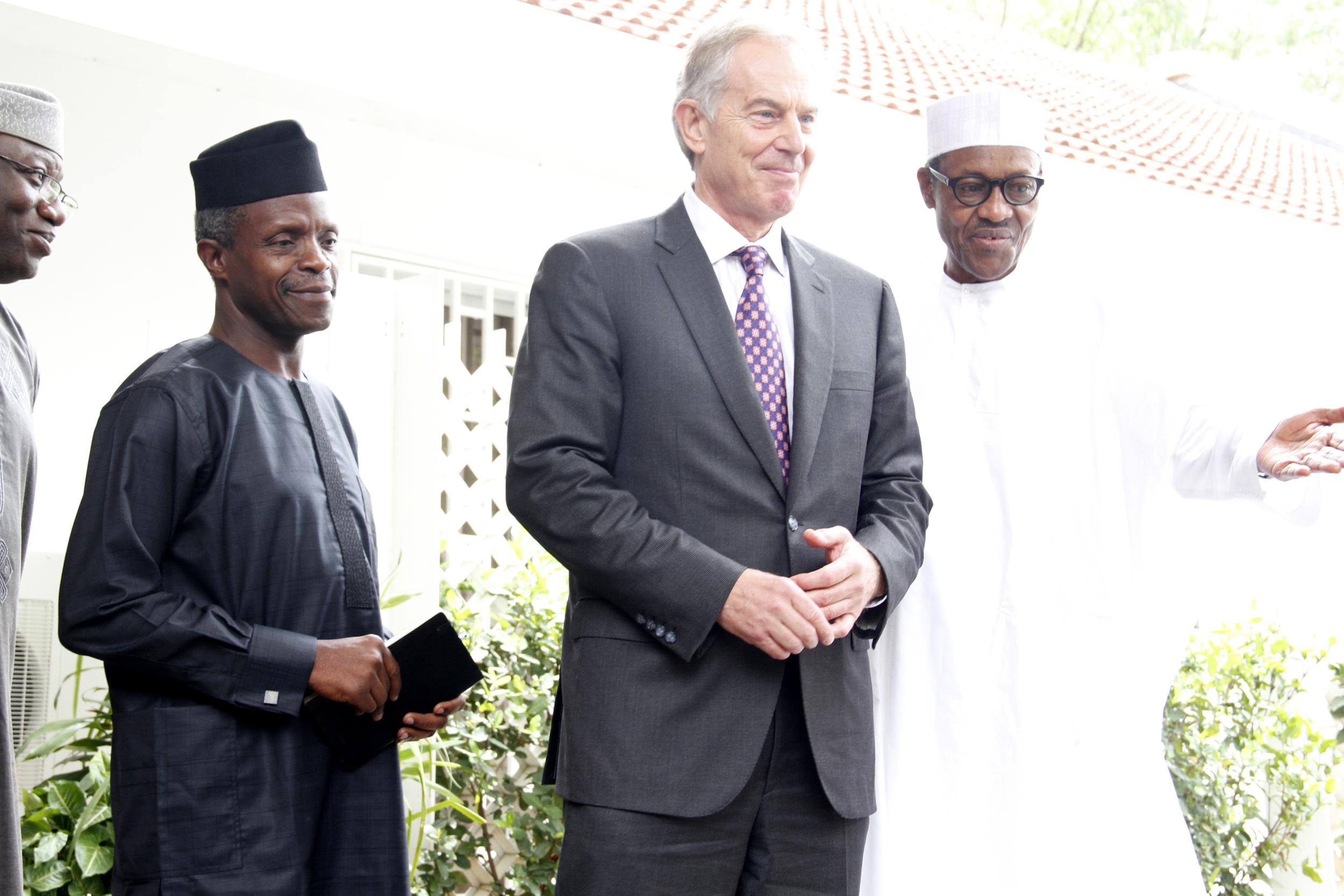 Defense House(Buhari & Tony Blair) 2