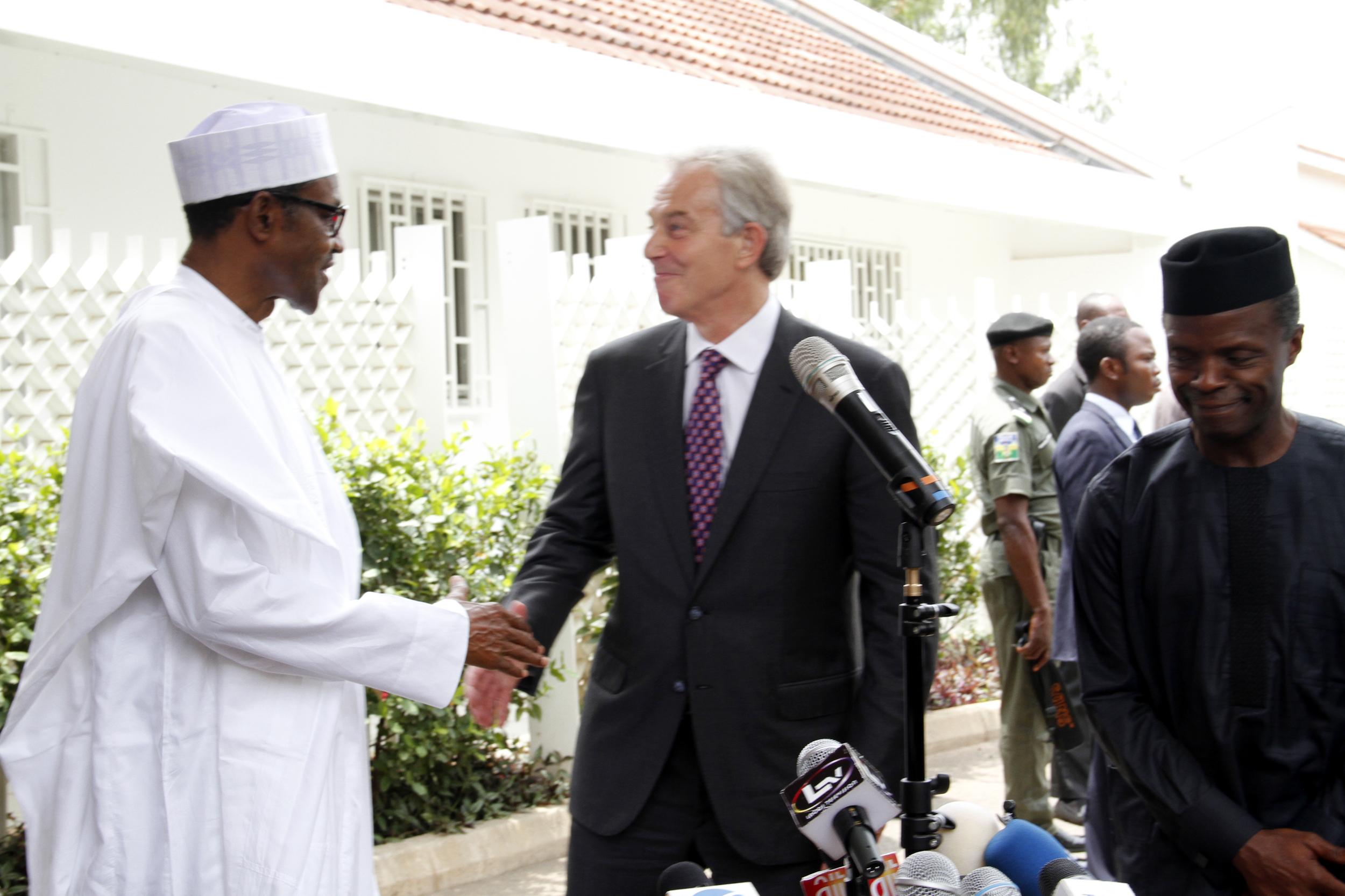Defense House(Buhari & Tony Blair) 3