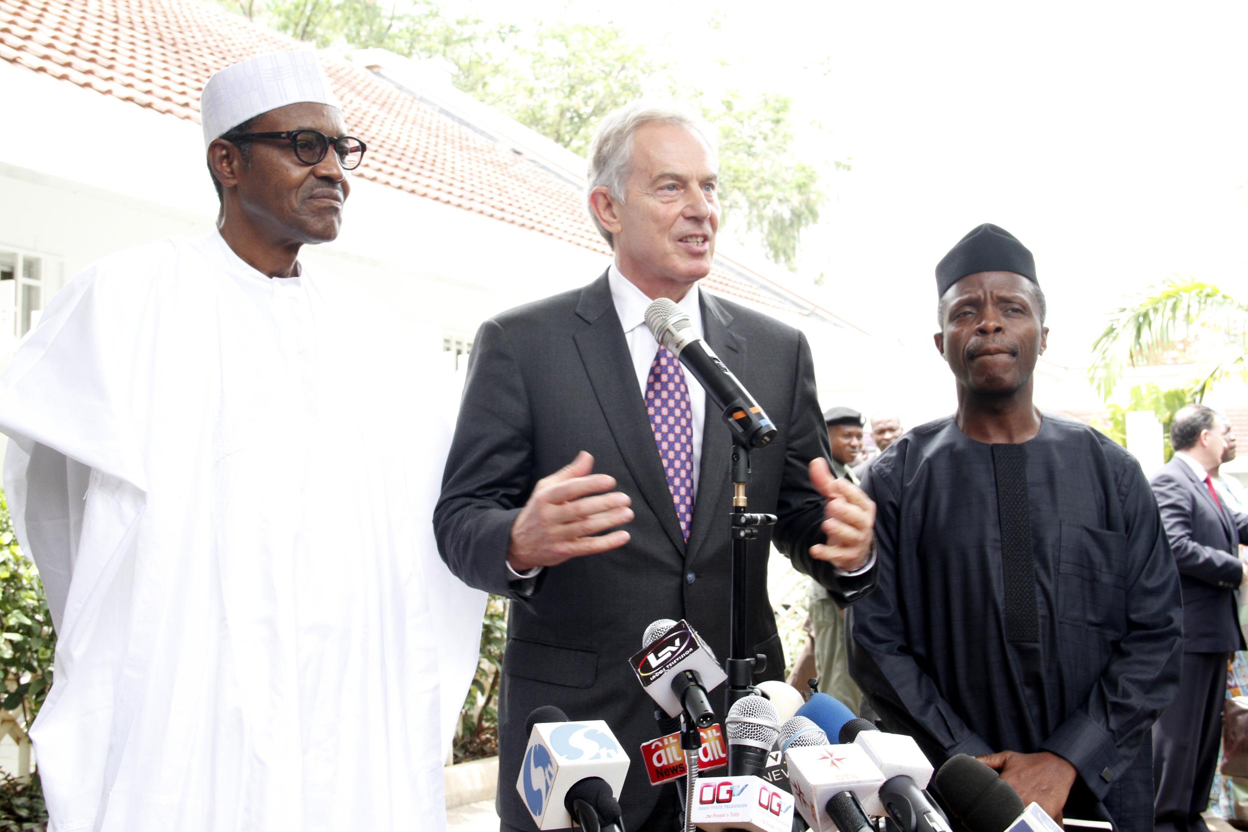Defense House(Buhari & Tony Blair) 4