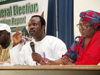 General election observation report