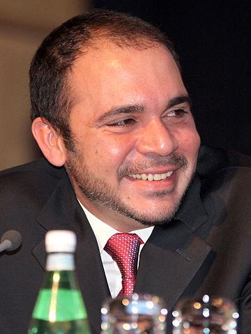 FIFA vice president Prince Ali bin al Hussein