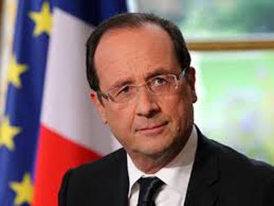 France President, Francois Hollande
