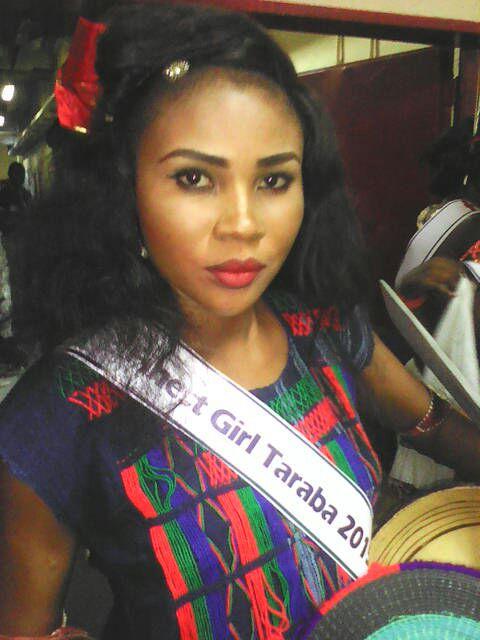 Miss Elfreda Odeh, representing Taraba. Photo; Stelladimorkokus