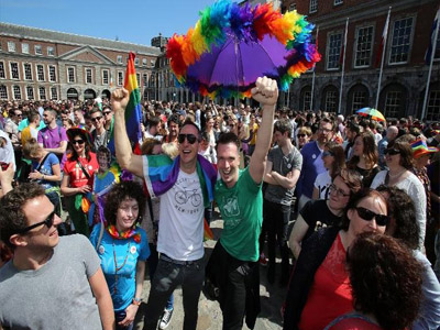 Ireland's'Yes' to gay marriage