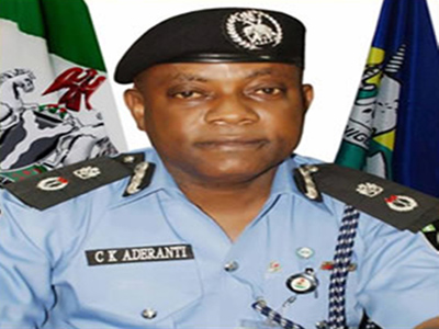 Lagos Commissioner of Police, Kayode Aderanti