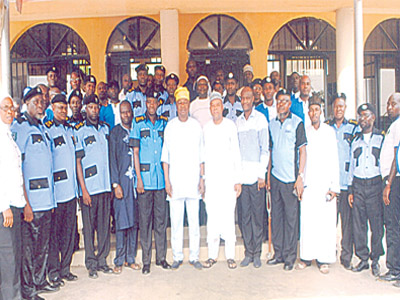 Cross section of participants and dignitaries at the seminar organised by the Security Committee of NASFAT last weekend. In attendance were the President of NASFAT, Engineer Kamil Bolarinwa, some NEC members and the facilitators such as DCP Lawan Ado and CSP Lateef Ahmed. The event was coordinated by CSP Waheed Ayilara, Head of the Security Committee of NASFAT.