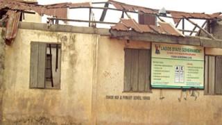 Oshodi primary school in tatters