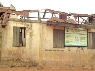 Oshodi primary school in tatters