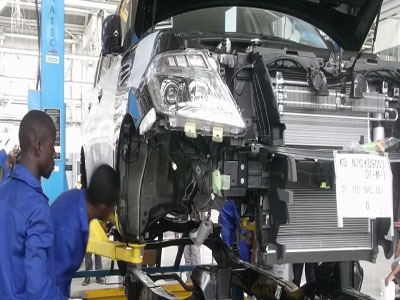 Operations at a Nigerian Vehicles assembly plant