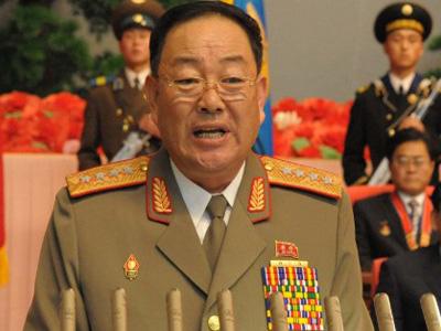 North Korea defense chief, Hyon
