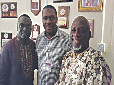 Singer Asu Ekiye, pastor Ogudu and actor Larry Koldsweat