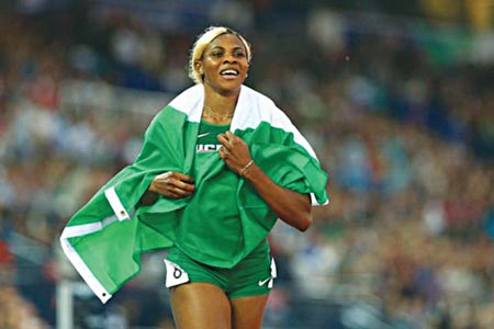 Blessing Okagbare       PHOTO: IAAF.