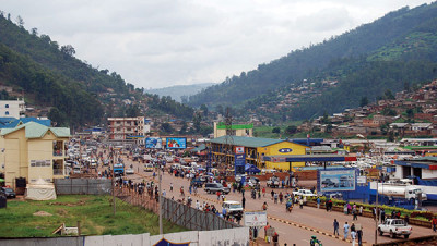 Rwanda's busy streets and mountains