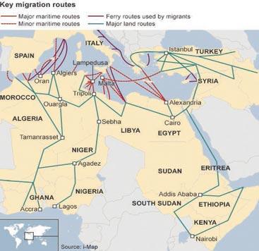 Sea Routes